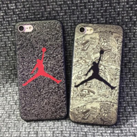 Unique Giraffiti Jordan Print Couple's Iphone 7 7plus & 6 6s Plus Cover Case + Gift Box