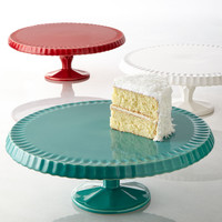 """Quilted"" Cake Plate - Neiman Marcus"