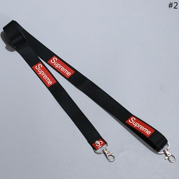 Supreme Tide brand men and women personality mobile phone shell webbing lanyard #2