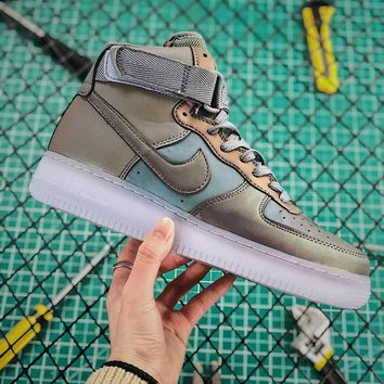 Nike Air Force 1 07 High Anthracite Fashion Shoes - Best Online Sale