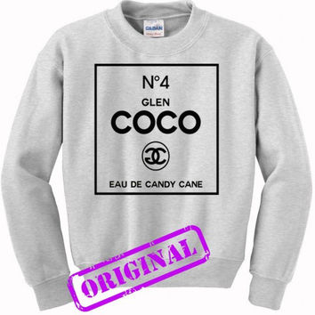 no 4 glen coco made me do it for sweater ash, sweatshirt ash unisex adult