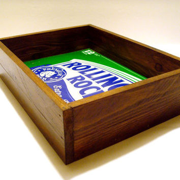Handcrafted Rolling Rock Beer Tray - Home Decor, Bar Decor, Valet Tray