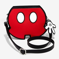 Loungefly Disney Mickey Mouse Shorts Crossbody Bag