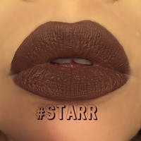 STARR - Darkest Brown - Silky Moisturizing Matte Liquid Lipstick