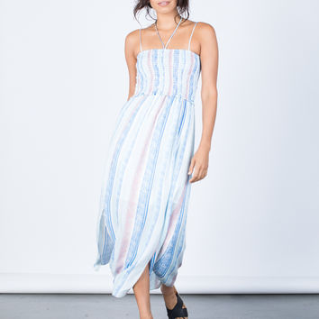 Beach Days Striped Dress