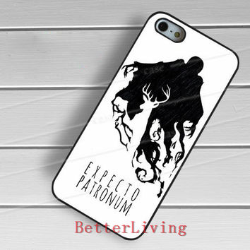 Harry potter deer silhouette fashion cell phone cover case for samsung galaxy S3 S4 S5 S6 edge S7 edge Note 3 4 5 #wt224