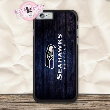 Seattle Seahawks American Football Case For iPhone X 8 7 6 6s Plus 5 5s SE 5c 4 4s For iPod Touch