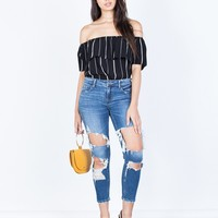 Totally Ripped Up Jeans