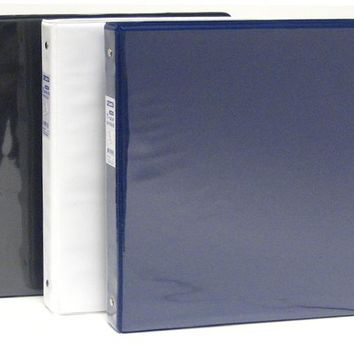 """1"""" Binder with Front View Clear Sleeve - CASE OF 48"""