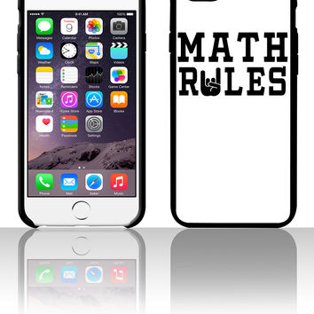 Math Rules 5 5s 6 6plus phone cases