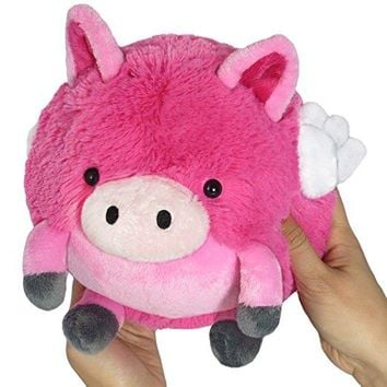 Mini Squishable Flying Pig  7""