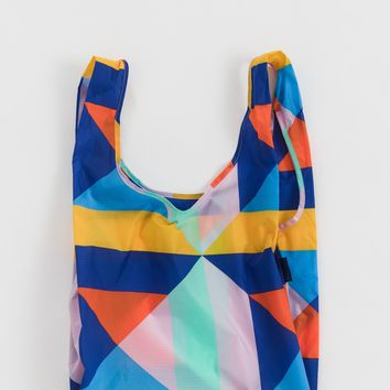 Quilt Block Standard Reusable Shopping Bag by Baggu - PRE-ORDER, SHIPS IN AUGUST