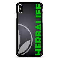 Black Herbalife iPhone X Case