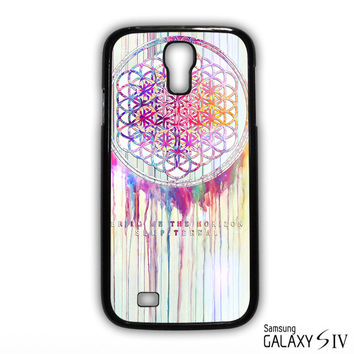 BMTH Sempiternal In Rainbow Watercolor Drop Bring Me The Horizon for phone case Samsung Galaxy S3,S4,S5,S6,S6 Edge,S6 Edge Plus phone case