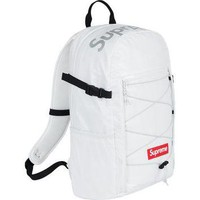 Supreme FW17 Backpack - White