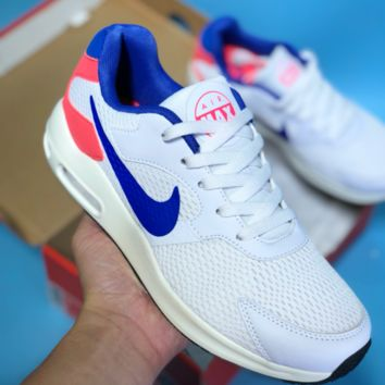DCCK2 N314 Nike Air Max Guile Ratro Mesh Breathable Running Shoes White Blue Red