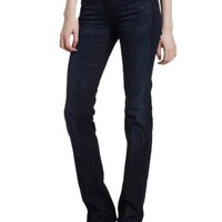 7 For All Mankind Women's Straight Leg Jean in Los Angeles Dark