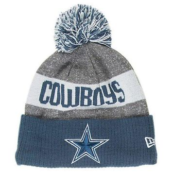 DCK7YE New Men's Dallas Cowboys NFL 2016 / 2017 Sideline Official Sport Knit Beanie hat