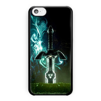 Legend Of Zelda Link Sword And Shield iPhone 5C Case