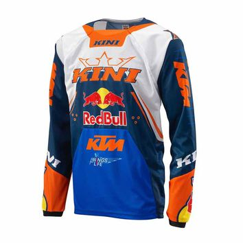 SPTGRVO Pro Team KTM Motorcycle Downhill Jersey Ropa Maillot DH MTB Breathable T-shirt Off-road Motocross Cycling Crossmax Shirt