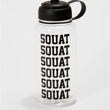Squat Water Bottle