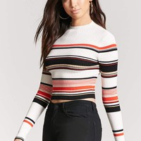Ribbed Multistripe Sweater