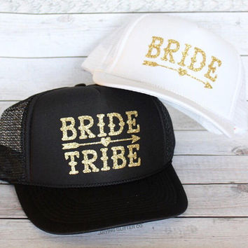 Bride - Bride Tribe - Bachelorette Party // Trucker Hat