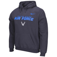 Air Force Falcons Nike Military Classic Cotton Hoodie – Anthracite