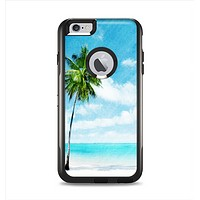 The Paradise Beach Palm Tree Apple iPhone 6 Plus Otterbox Commuter Case Skin Set