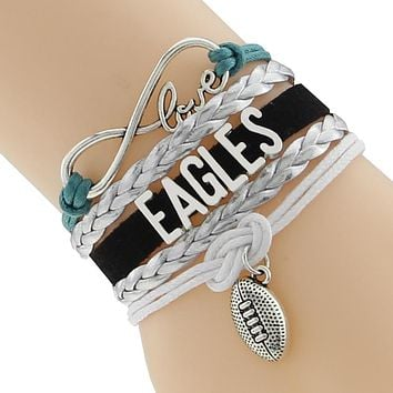 *TRENDING NOW* Philadelphia Eagles Weave Bracelet
