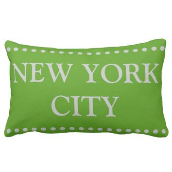 New York City Lumbar Pillow