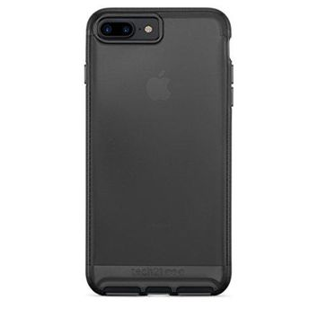 Tech21 Impact Clear Full Protection Case for Apple iPhone 7 Plus and iPhone 8 Plus (Smoke Black)