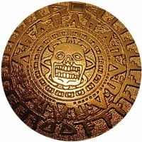 Cursed Aztec Gold Replica Coin
