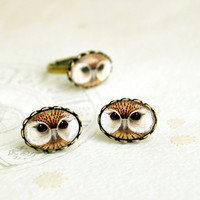 Owl Jewelry - Owl Ring, Autumn Fashion, Animal bird jewelry, gift idea for owl lover, woodland jewelry