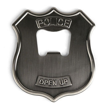 Police Badge Bottle Opener - Kikkerland Design Inc