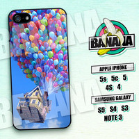 Up Balloons, Flying moving house, iPhone 5 case, iPhone 5C Case, iPhone 5S case, Phone case, iPhone 4 Case, iPhone 4S Case, Phone Skin, up01