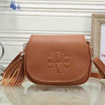 *Tory Burch* Women Fashion Leather Crossbody Shoulder Bag