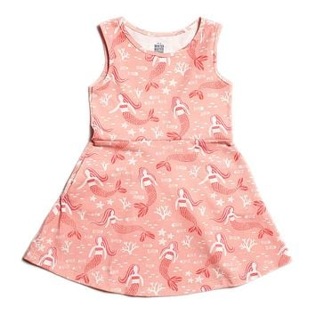 Pink Mermaid Tank Dress by Winter Water Factory