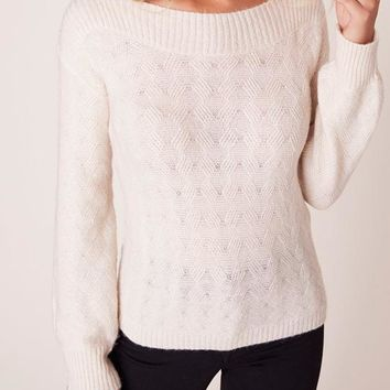 BB Dakota - Oatmeal Show Boat Sweater