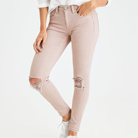 AEO Denim X4 Jegging, Light Pink