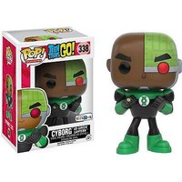 Pop Funko DC Comics Teen Titans Go Cyborg as Green Lantern EXCLUSIVE Figure #338