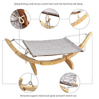 Luxury Cat Hammock - Pet Lounge Perch for Small & Large Cats