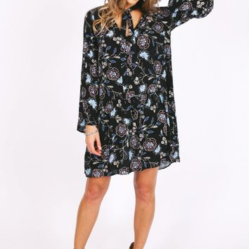 Believe Your Eyes Printed Dress