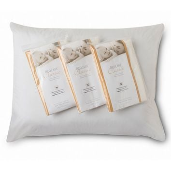 Royal Heritage Home 3-pk. Waterproof Allergy Control Pillow Protectors (White)