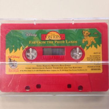 Disney THE LION KING-Far From The Pride Lands CASSETTE