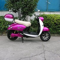 """Boom 800W 48V Electric Moped Scooter 573Z Brushless Motor 48"""" Center distance 28 Mph Max Speed Free shipping"""