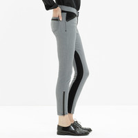 Colorblock Zip Jeans