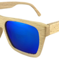 Polarized Wood Sunglasses Men Handmade Wooden Glasses Retro Vintage Coating