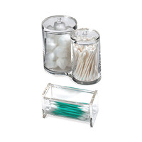 Acrylic Cotton & Swab Holders