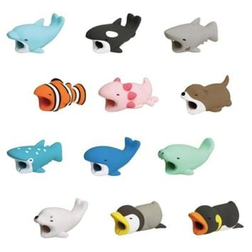ping 36 styles 1 Pcs IPhone Cable Bite Accessory Protects Animals Chompers